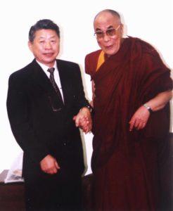 Prof. Dr. Ysao Yamamura e Dalai Lama